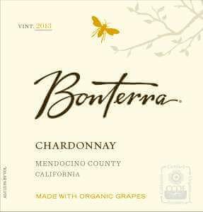 Bonterra Chardonnay 2013 wine label