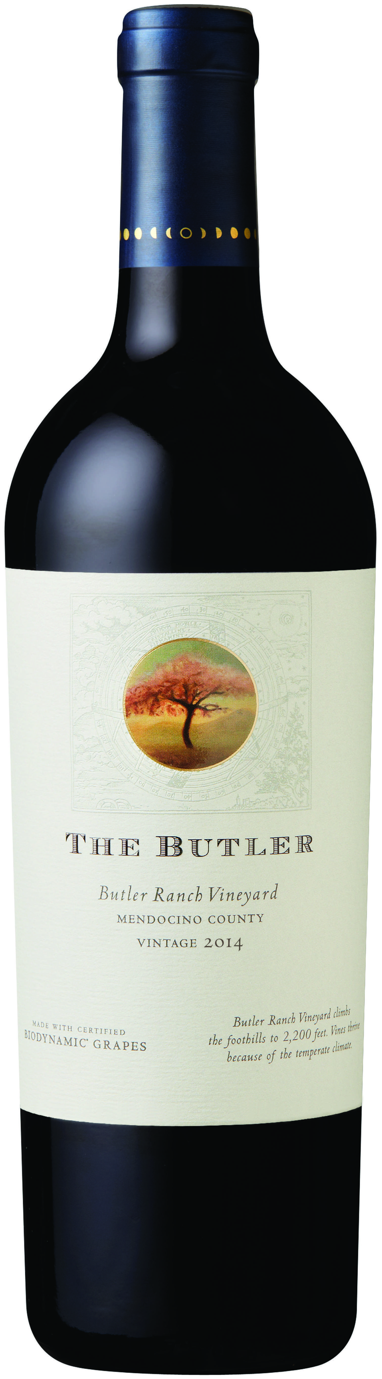 2014 Bonterra Vintage The Butler Bottle