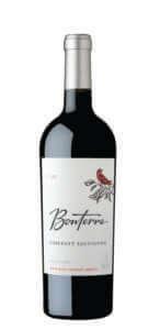Bonterra Cabernet Sauvignon 2017 Bottle