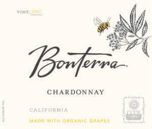 Bonterra Chardonnay 2017 Front Label
