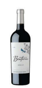 Bonterra Merlot 2017 Bottle