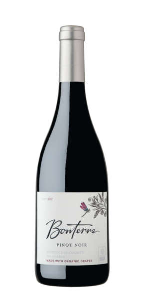 Bonterra Pinot Nior Bottle from Mendicino County