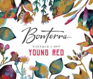2017 Bonterra Young Red Front Label
