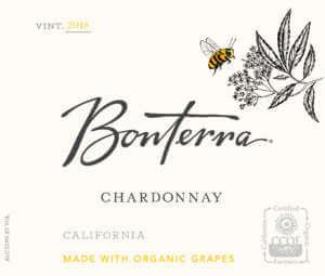 Bonterra Chardonnay 2018 Front Label