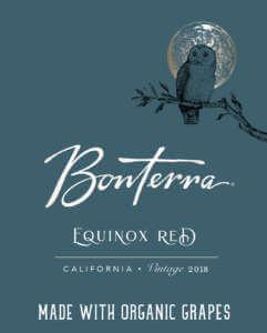 2018 Bonterra Equinox Red Front Label
