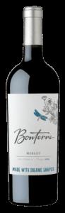 Bonterra Merlot 2018 Bottle