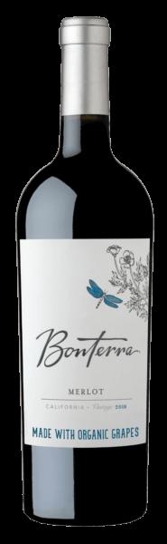 Bonterra Merlot Bottle