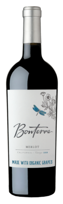 Bonterra Merlot Bottle Shot