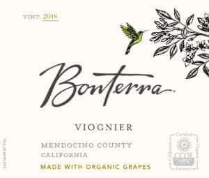 Bonterra Viognier 2018 Front Label