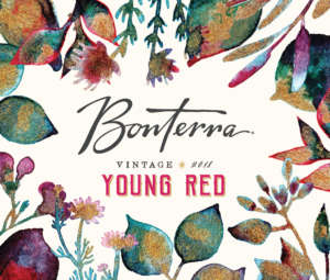 2018 Bonterra Young Red Front Label