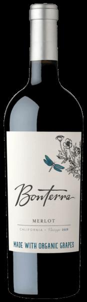 Bonterra Merlot 2019 Bottle