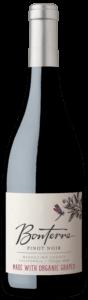Bonterra Pinot Noir 2019 bottle shot