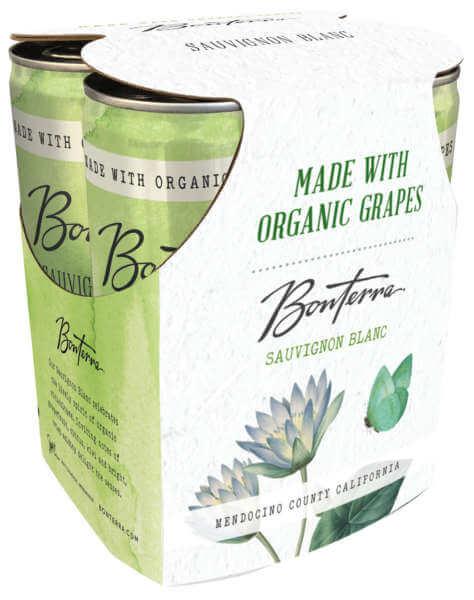 Bonterra Sauvignon Blanc 4-pack cans
