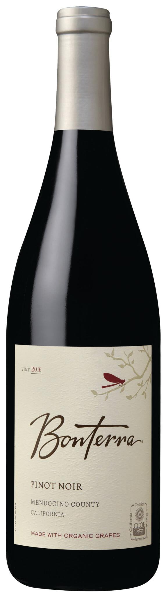 Pinot Noir Bottle Shot