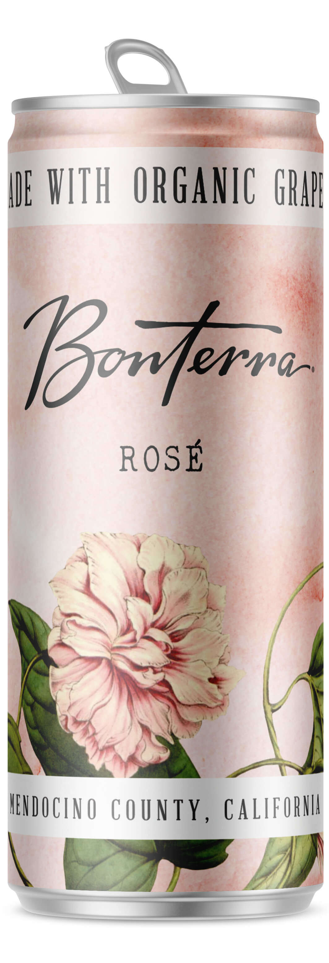 A Single Bonterra Rosé Can