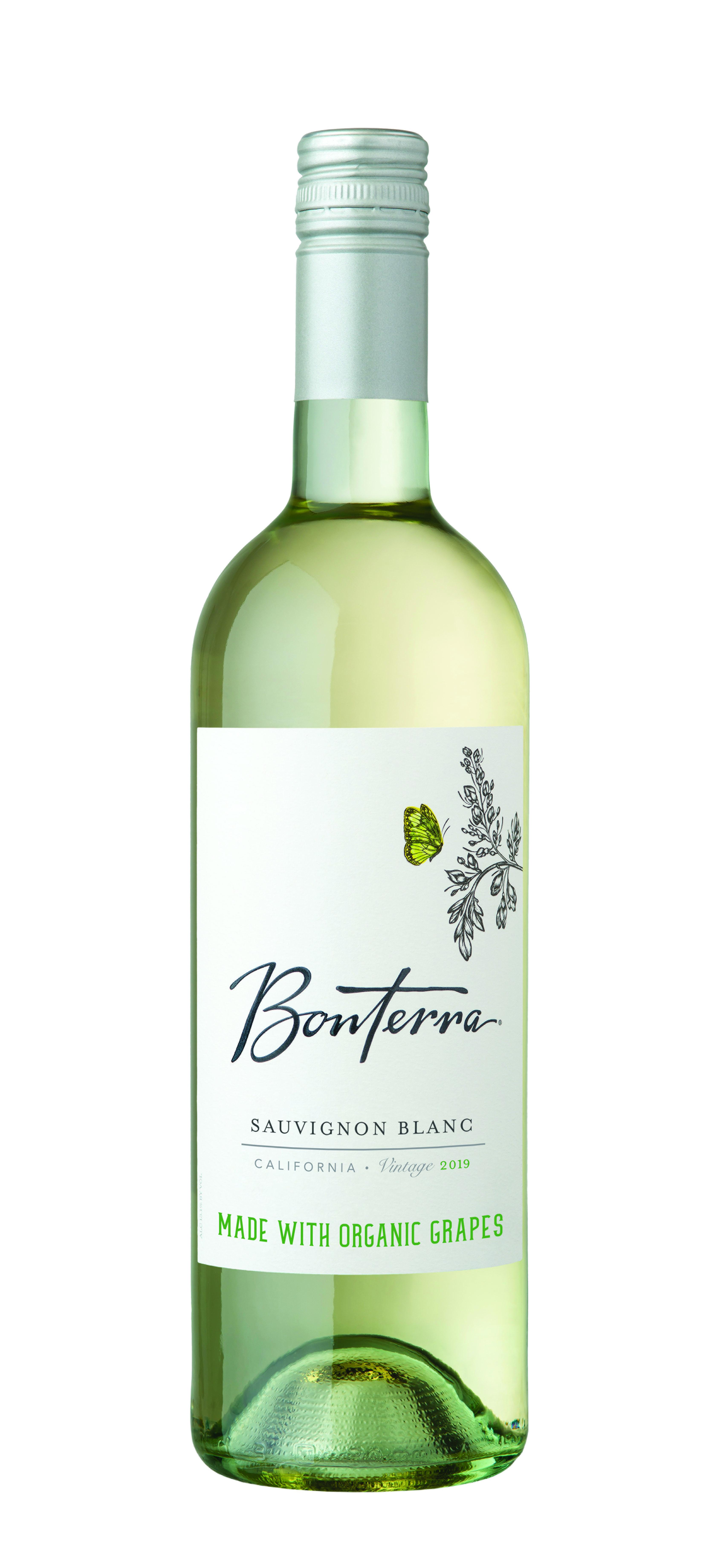 Bonterra Savignon Blanc Wine Bottle