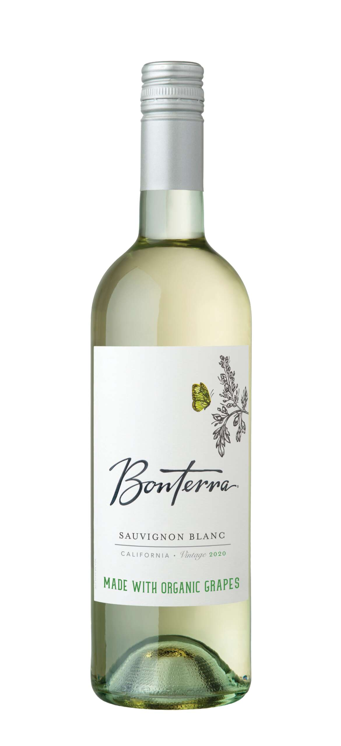 2020 SAUVIGNON BLANC California Crafted From Certified Organically Grown Grapes
