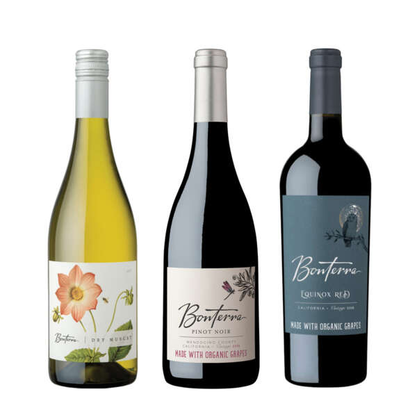 Bonterra Organically Farmed Wine Trio Shot