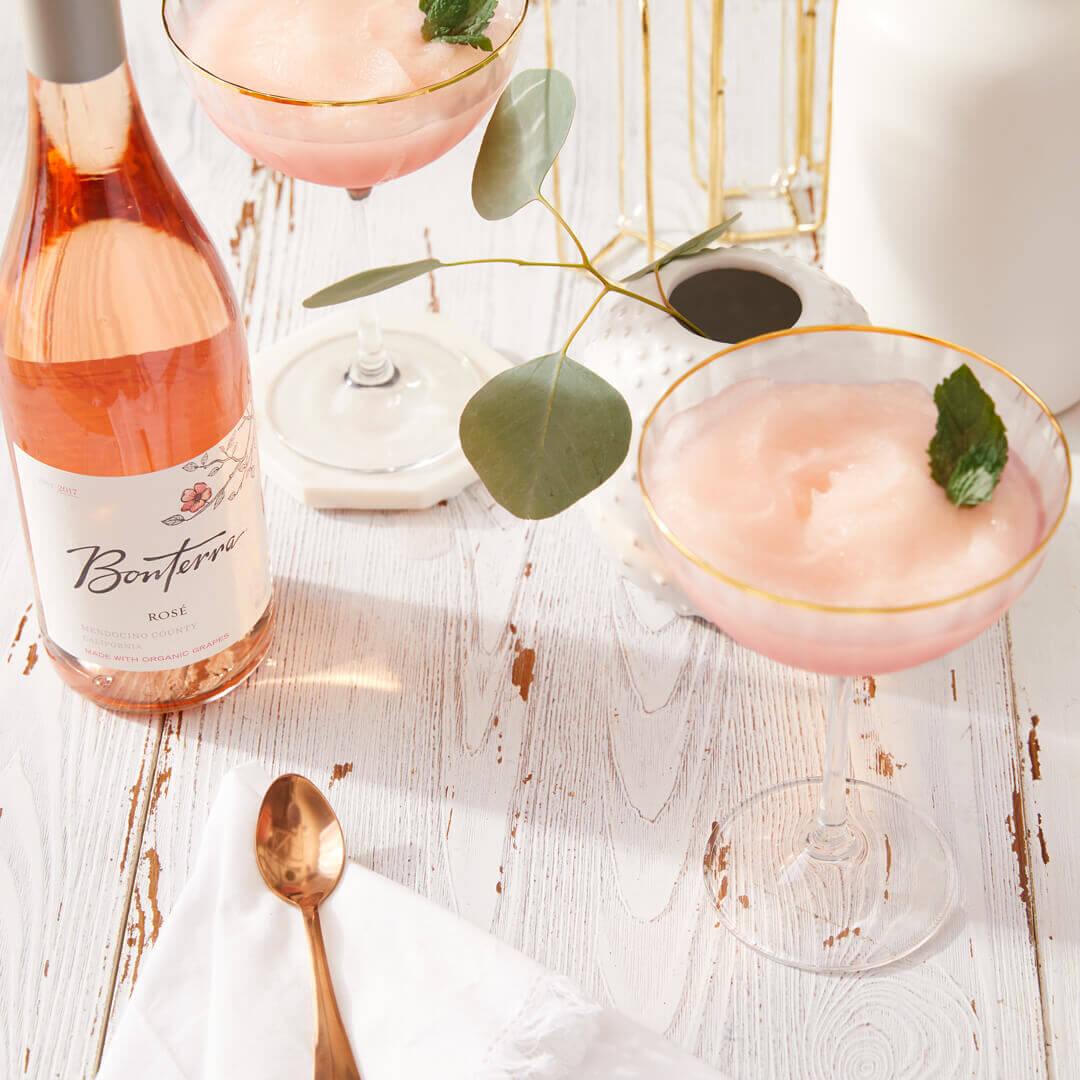 Bonterra Rosé and Frose