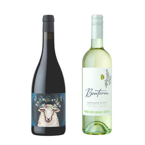 Bonterra Merlot & Sauvignon Blanc Wine Down Duo