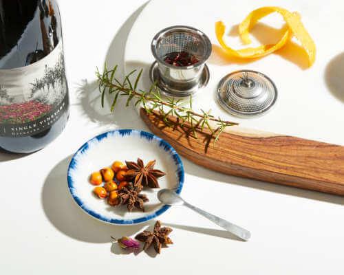 DIY Herbal Tisane with Bing Cherries