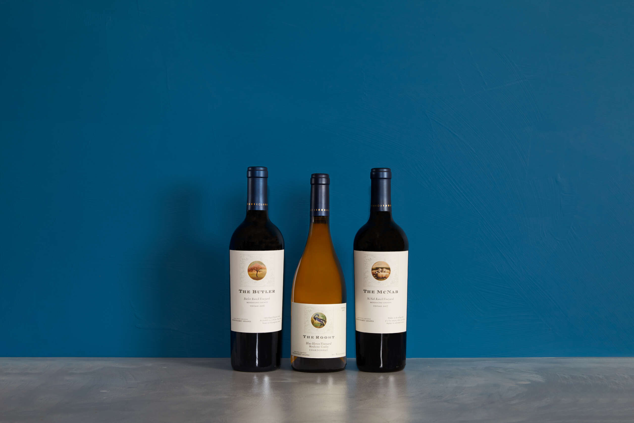 Bonterra Organically Farmed Wine Family Shot