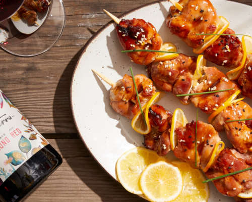 shareable yakitori skewers