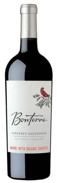 Bonterra Cabernet Sauvignon Bottle
