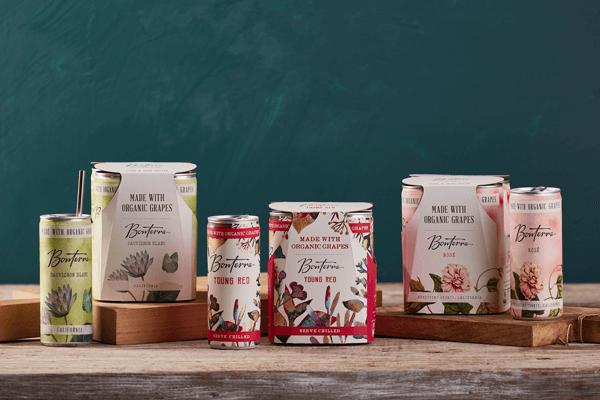 Bonterra's New Organic Wine Cans