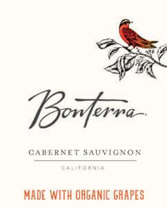 Bonterra Cabernet Sauvignon Front Label