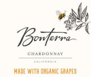 Bonterra Chardonnay Front Label