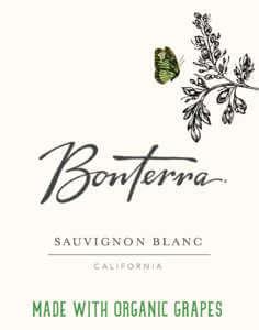 Bonterra Sauvignon Blanc Front Label