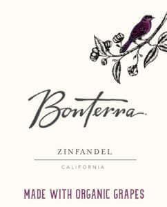 Bonterra Zinfandel Front Label