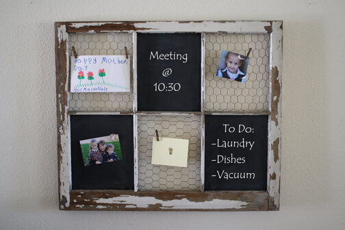 Old-Window-Frame-into-Chalkboard
