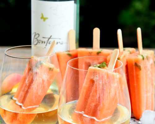 Bonterra - Peach Basil Wine Popsicles