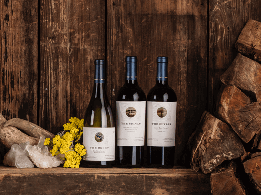Three single-vineyard, limited release wines grown on Bonterra's Biodynamic ranches.