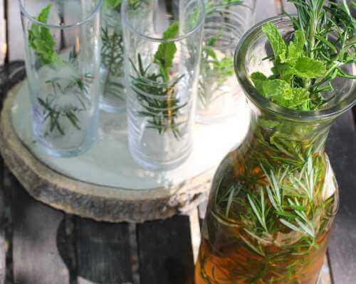 Herbal-Orange Sun Tea