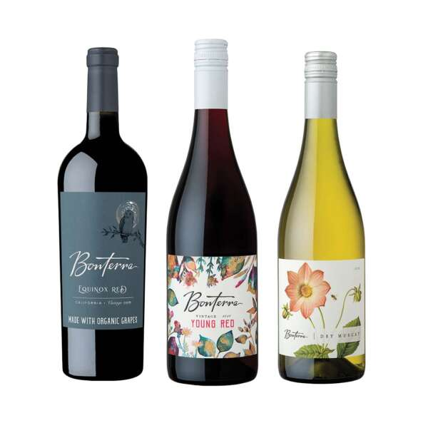 Bonterra Organically Farmed Wine Equinox Trio