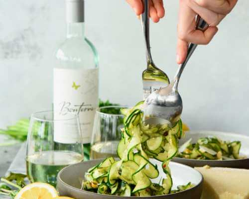 Bonterra - Zucchini Parmesan Salad