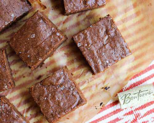 Chocolate-Cabernet Brownies