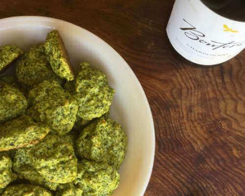 Spinach-Artichoke Parmesan Puffs